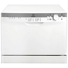 Buy Indesit ICD661 Compact Dishwasher, White Online at johnlewis.com