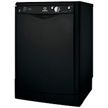 Buy Indesit IDF125K Dishwasher, Black Online at johnlewis.com