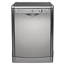 Buy Indesit IDF125S Dishwasher, Silver Online at johnlewis.com