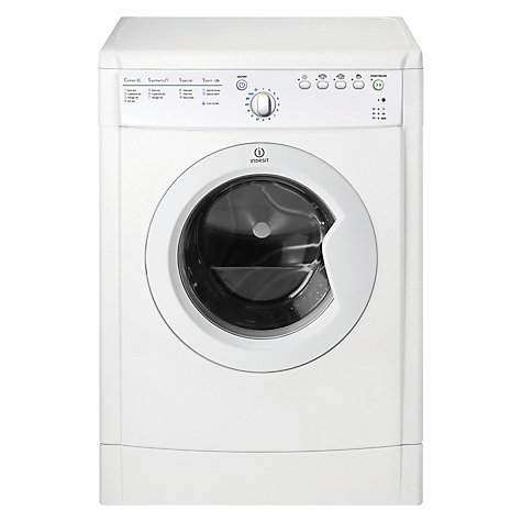 Buy Indesit IDVA735 Vented Tumble Dryer, 7kg Load, C Energy Rating, White Online at johnlewis.com