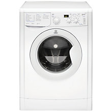 Buy Indesit IWD7145 Washing Machine, 7kg Load, A Energy Rating, 1400rpm Spin, White Online at johnlewis.com