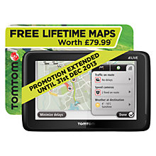 Buy TomTom GO LIVE 1005 V2.0 GPS Navigation System, World Maps Online at johnlewis.com