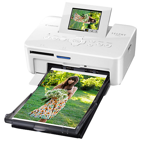 Buy Canon CP810 Selphy Compact Photo Printer Online at johnlewis.com