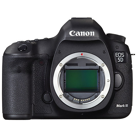 "Buy Canon EOS 5D MK III Digital SLR Camera, HD 1080p, 22.3MP, 3.2"" LCD Screen, Body Only Online at johnlewis.com"