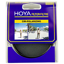Buy Hoya Circular Polarising Lens Filter, 55mm Online at johnlewis.com