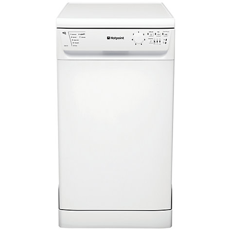 Buy Hotpoint SDL510P Slimline Dishwasher, White Online at johnlewis.com