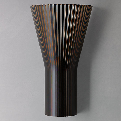 Buy Secto 4231 Wall Light, Black Online at johnlewis.com