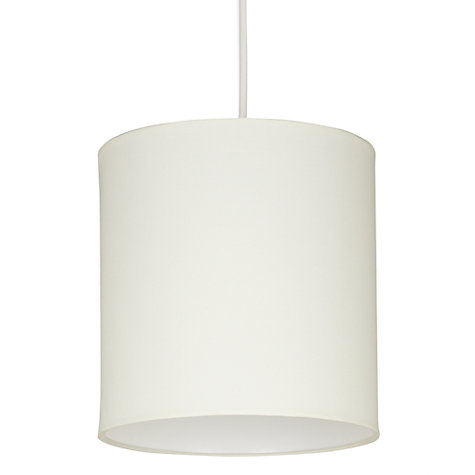 Buy John Lewis New Lulu Drum Shade, Cream Online at johnlewis.com