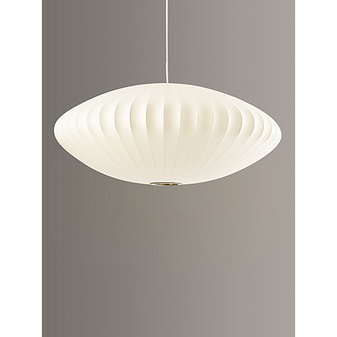 Buy George Nelson Bubble Saucer Ceiling Light, Large Online at johnlewis.com