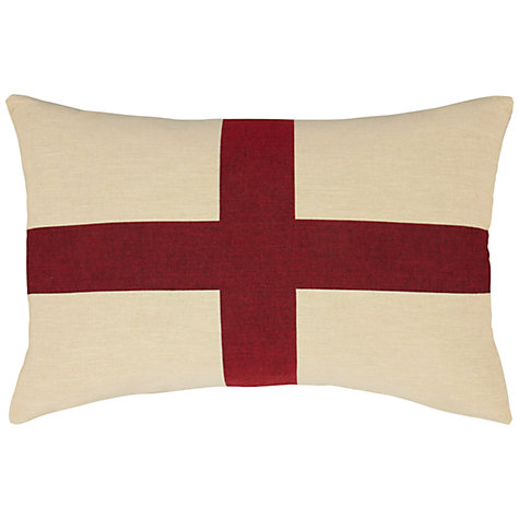 Buy John Lewis Giant St Georges Cushion, Multicoloured Online at johnlewis.com