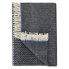 Buy Designers Guild Wilson Throw, Indigo Online at johnlewis.com
