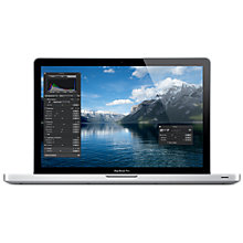 "Buy Apple MacBook Pro, MD103B/A, Intel Core i7, 2.3GHz, 500GB, 4GB RAM, 15.4"" Online at johnlewis.com"