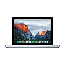 "Buy Apple MacBook Pro, MD101B/A, Intel Core i5, 2.5GHz, 500GB, 4GB RAM, 13.3"" Online at johnlewis.com"