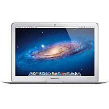 "Buy Apple MacBook Air, MD232B/A, Intel Core i5, 1.8GHz, 256GB SSD, 4GB RAM, 13.3"" Online at johnlewis.com"