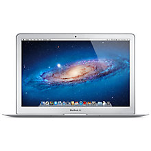 "Buy Apple MacBook Air, MD223B/A, Intel Core i5, 1.7GHz, 64GB SSD, 4GB RAM, 11.6"" Online at johnlewis.com"