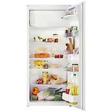 Buy Zanussi ZBA22420SA Integrated Fridge with Freezer Compartment, A+ Energy Rating, 54cm Wide, White Online at johnlewis.com