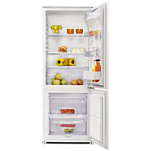 Buy Zanussi ZBB24430SA Integrated Fridge Freezer, A+ Energy Rating, 54cm Wide Online at johnlewis.com