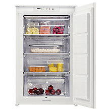 Buy Zanussi ZBF11420SA Integrated Freezer, A+ Energy Rating, 56cm Wide Online at johnlewis.com