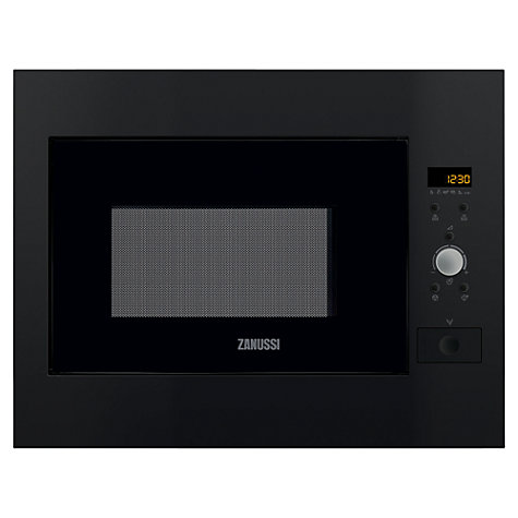 Buy Zanussi ZBM26542BA Built-In Microwave, Black Online at johnlewis.com