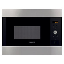 Buy Zanussi ZBM26542XA Built-In Microwave, Stainless Steel Online at johnlewis.com