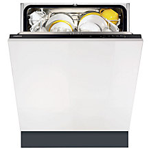 Buy Zanussi ZDT11001FA Integrated Dishwasher Online at johnlewis.com