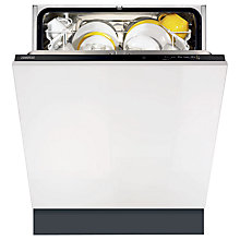 Buy Zanussi ZDT12002FA Integrated Dishwasher Online at johnlewis.com