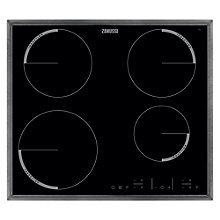 Buy Zanussi ZEI6640XBA, Ceramic Induction Hob, 60cm WideBlack Glass Online at johnlewis.com