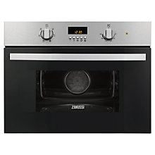 Buy Zanussi ZKC38310XK Built-in Combination Microwave, Stainless Steel Online at johnlewis.com