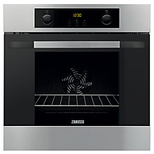 Buy Zanussi ZOA35802XD Single Electric Oven, Stainless Steel Online at johnlewis.com