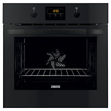 Buy Zanussi ZOP37902BK Single Electric Oven, Black Online at johnlewis.com