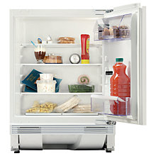 Buy Zanussi QA14030DA Integrated Undercounter Larder Fridge, A+ Energy Rated, 60cm Wide, White Online at johnlewis.com