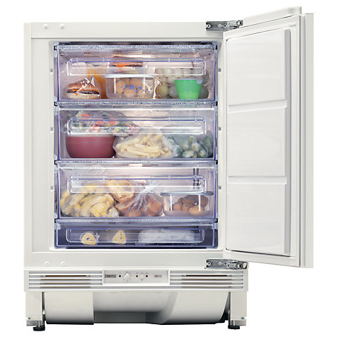 Buy Zanussi ZQF11430DA Built In Freezer, A+ Energy Rating, 60cm Wide Online at johnlewis.com