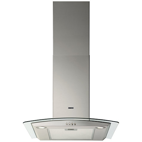 Buy Zanussi ZHC6234X Chimney Cooker Hood, Stainless Steel Online at johnlewis.com