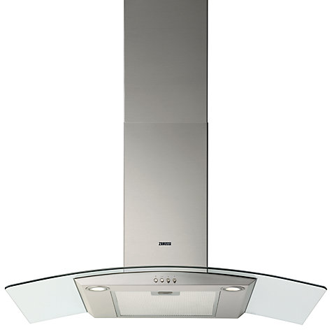 Buy Zanussi ZHC9234X Chimney Cooker Hood, Stainless Steel Online at johnlewis.com