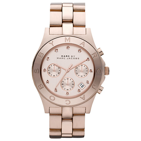 Buy Marc by Marc Jacobs Blade Women's Chronograph Bracelet Watch Online at johnlewis.com