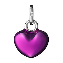 Buy Links of London Enamel Purple Heart Charm Online at johnlewis.com