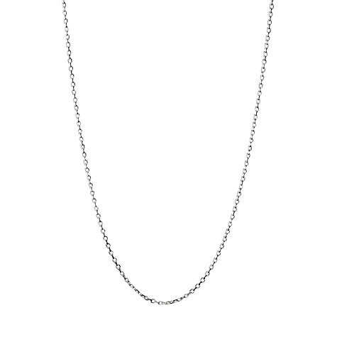 Buy Links of London Cable Chain Necklace, Silver Online at johnlewis.com