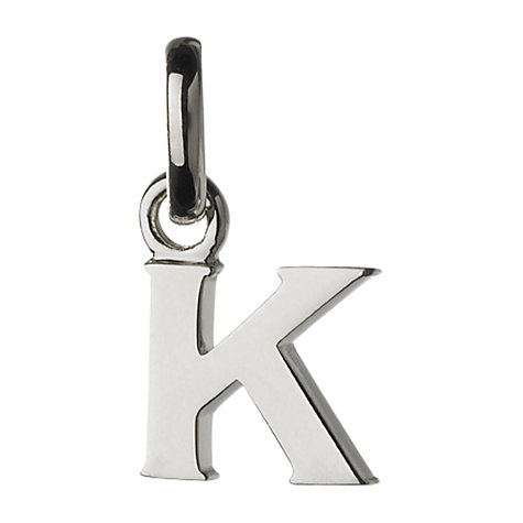 Buy Links of London Sterling Silver Alphabet Charm Online at johnlewis.com