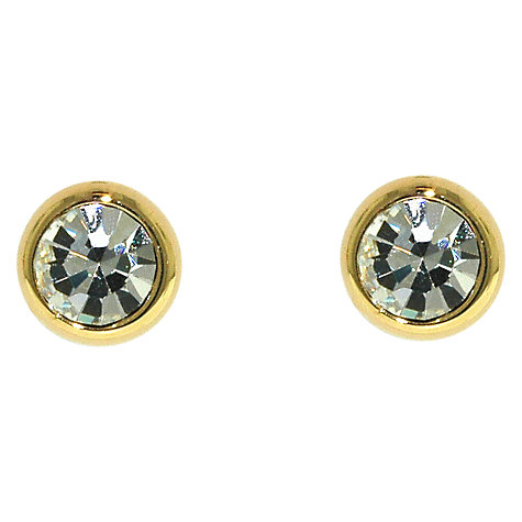 Buy Finesse Sparkly Crystal Stud Earrings Online at johnlewis.com