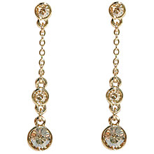 Buy Cachet London Pave Drop Earring Online at johnlewis.com