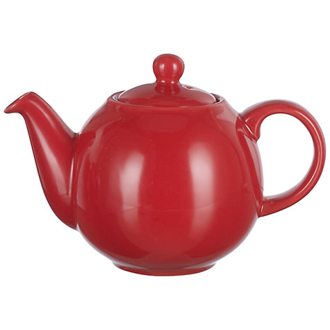 Buy London PotteryTeapot, 0.6L, Red Online at johnlewis.com