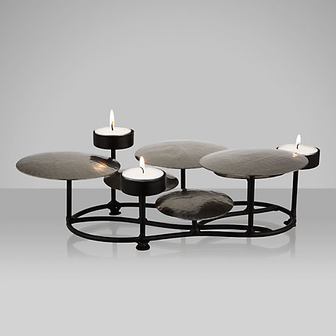 Buy John Lewis Circular Plate Table Tealight Holder Online at johnlewis.com