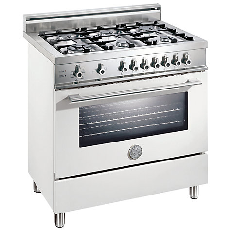 Buy Bertazzoni X906DUALBI Dual Energy Range Cooker, White Online at johnlewis.com