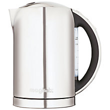 Buy Magimix 11689 Kettle, Polished Stainless Steel / Black Online at johnlewis.com