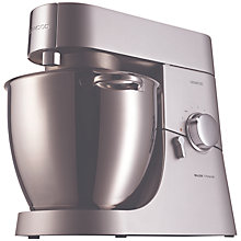 Buy Kenwood KMM020 Chef Major Stand Mixer, Titanium Online at johnlewis.com