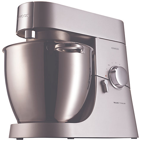 Buy Kenwood KMM020 Titanium Major Stand Mixer, Silver Online at johnlewis.com