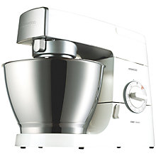 Buy Kenwood KM336 Chef Mixer with FREE Grinder Attachment Online at johnlewis.com