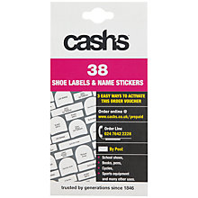 Buy Cash's Stick-on Labels, Pack of 38 Online at johnlewis.com