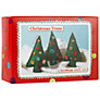 Buttonbag Craft Kit, Christmas Trees