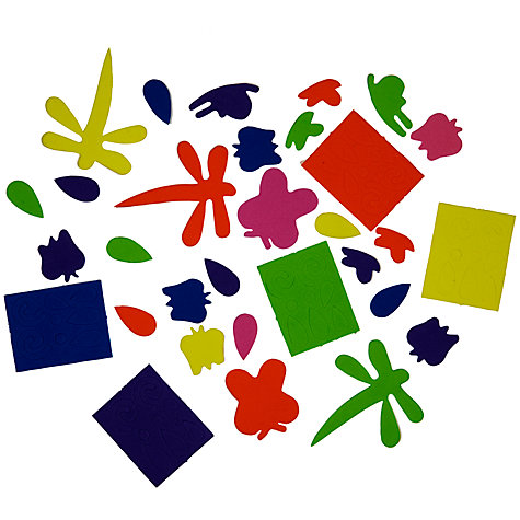 Buy John Lewis Foam Shapes, Pack of 120 Online at johnlewis.com